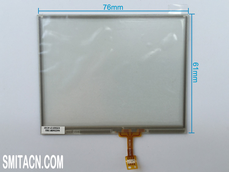 3.5 inch resistive touch screen digitizer glass 012A1-0356B
