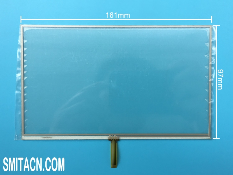 7 inch resistive touch screen digitizer glass 161x97mm