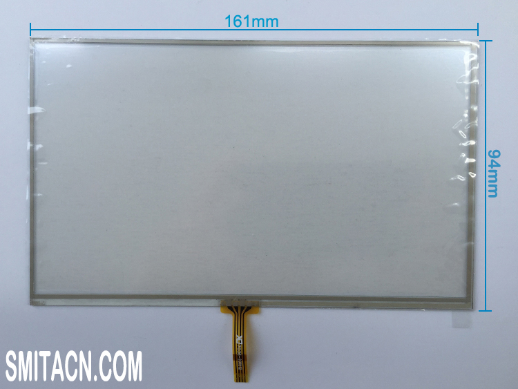 7 inch resistive touch screen digitizer glass 7036-201512