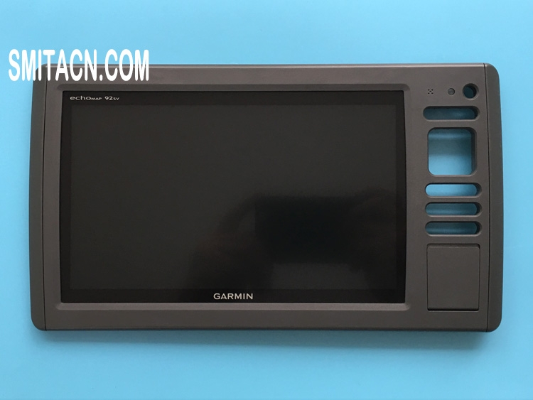 LCD display panel LCD screen with frame for Garmin echoMAP 92SV