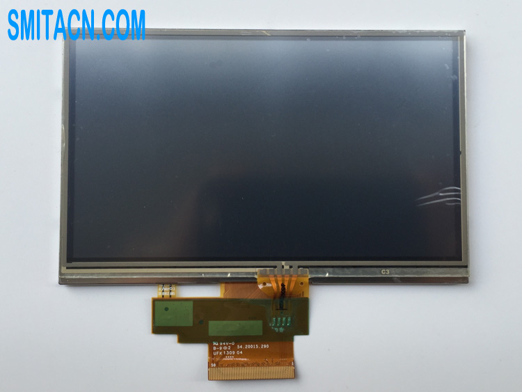 AUO A050FW03 V4 LCD display panel with touch screen for TomTom Start 25