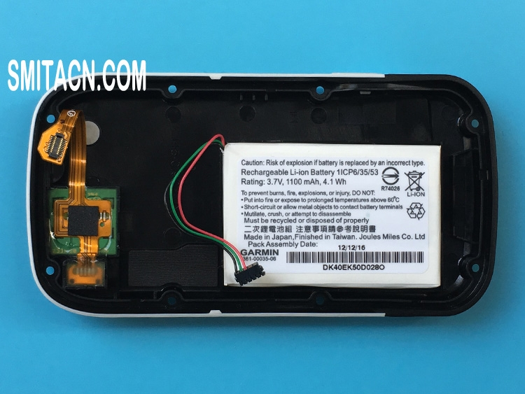 Back cover case with li-ion battery for Garmin Approach G8