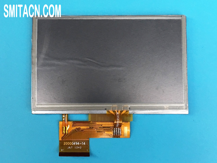 Innolux Display AT043TN24 V.4 LCD display panel with touch screen for Garmin Nuvi 2495 2495LMT 2445 2445LMT 1300 1300T