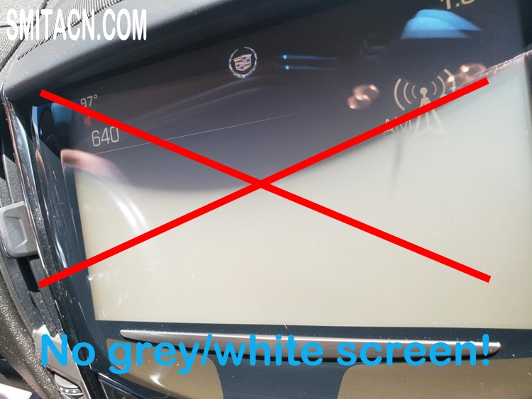 Replacement touch screen digitizer glass for Cadillac ATS CTS SRX XTS CUE car DVD GPS navigation