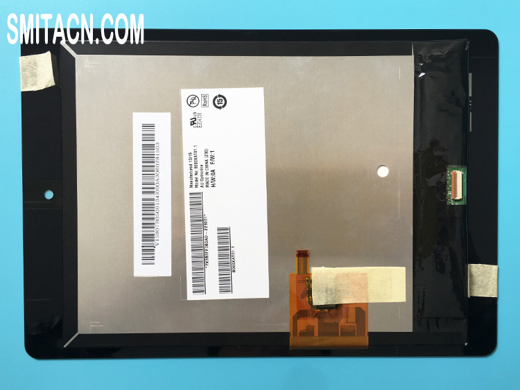 AU Optronics B080XAT01.1 LCD display panel with touch screen for Acer Iconia A1-810 tablet