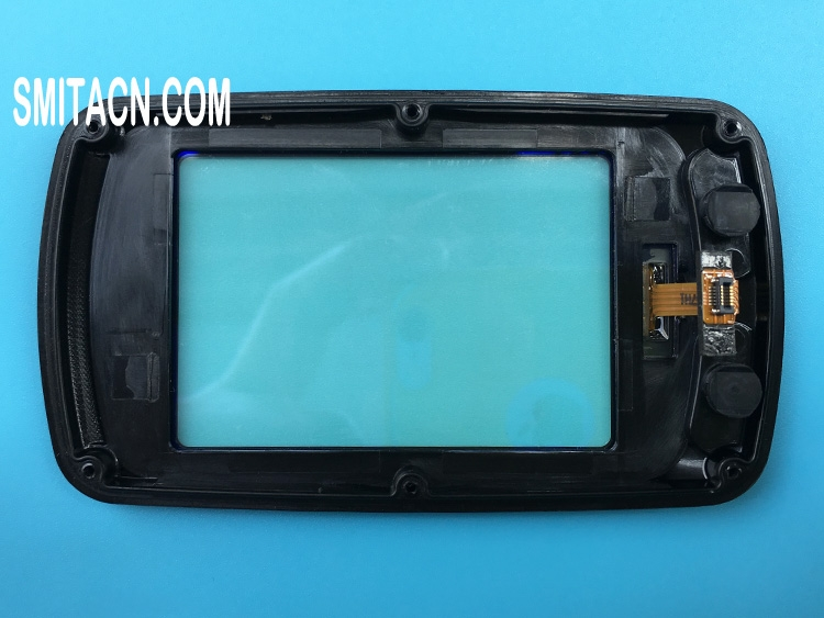 Touch screen digitizer with frame for Garmin Edge 810