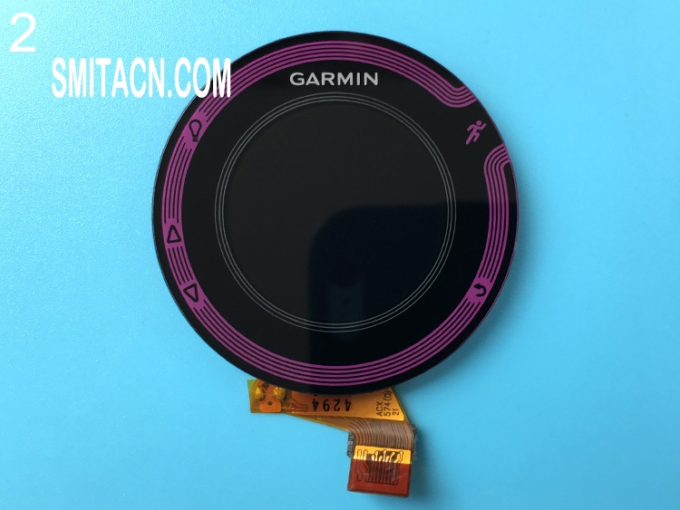 Front case cover with LCD screen for Garmin Forerunner 220