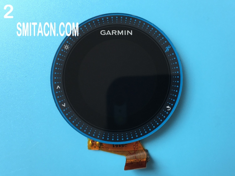 Front case cover with LCD screen for Garmin Forerunner 225