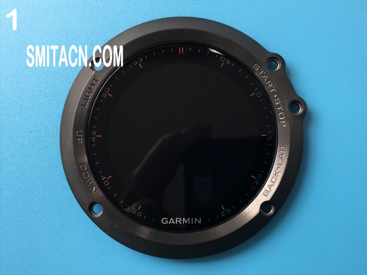 Front case cover with LCD screen for Garmin fenix 3 multisport training GPS watch