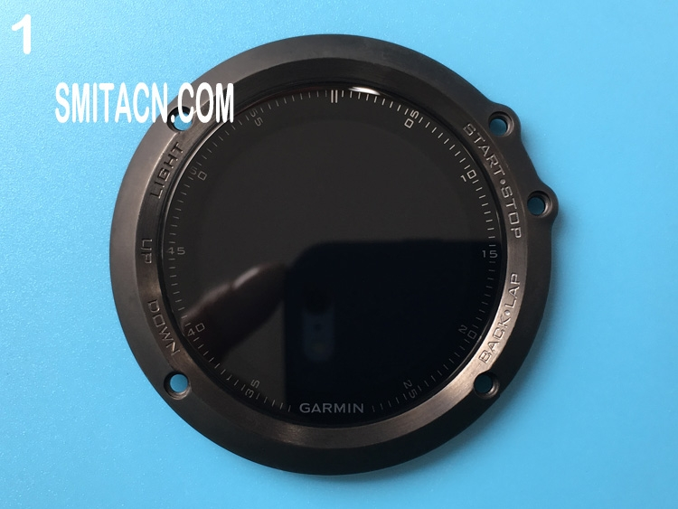 Front case cover with LCD screen for Garmin Fenix 3 HR and Sapphire GPS multisport watch