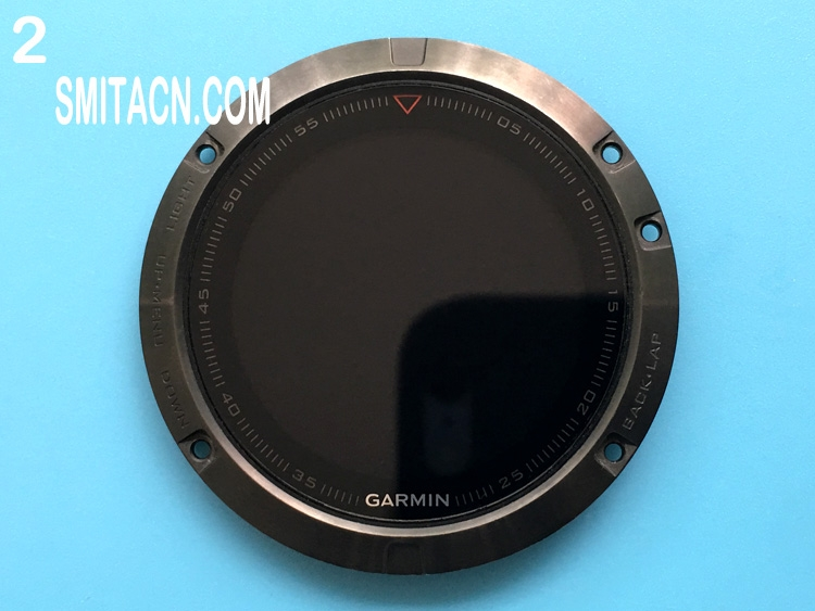 Front case cover with LCD screen for Garmin fenix 5