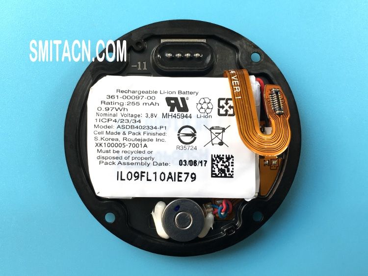 Back cover case with li-ion battery for Garmin Fenix 5