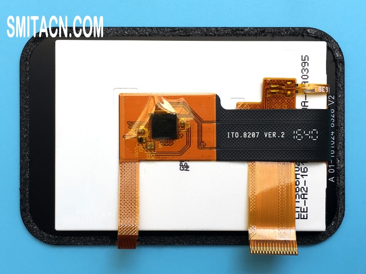 LCD display panel with touch screen digitizer for Garmin Approach G30
