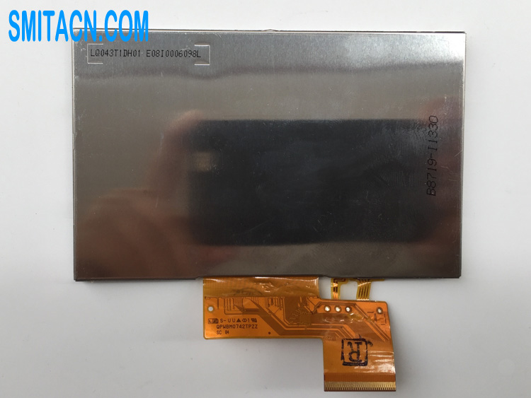Sharp LQ043T1DH01 LCD display panel with touch screen