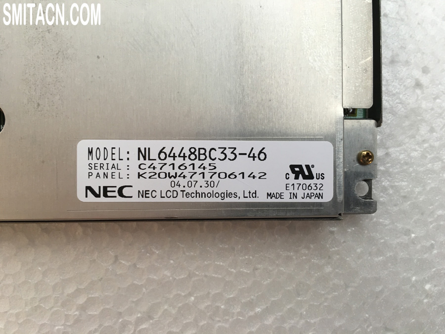 NEC LCD display panel NL6448BC33-46