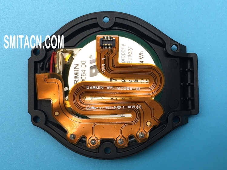 Li-ion battery with bottom cover for Garmin Approach S4 GPS watch