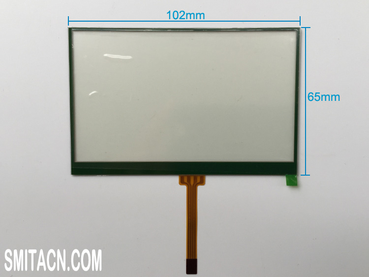 4.3 inch resistive touch screen digitizer glass XA302A01