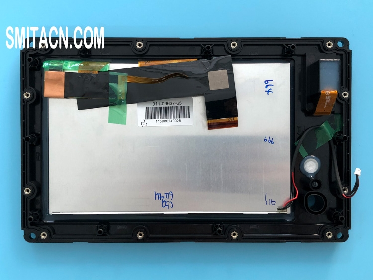 LCD display panel with touch screen digitizer for Yamaha CL7